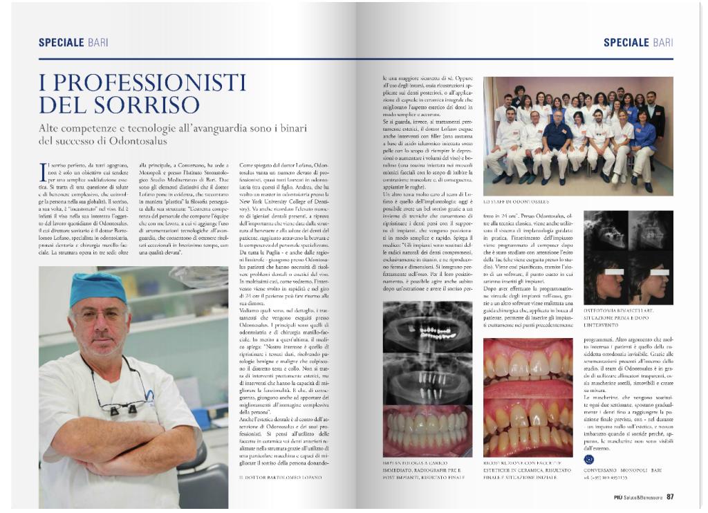 Odontosalus rivista